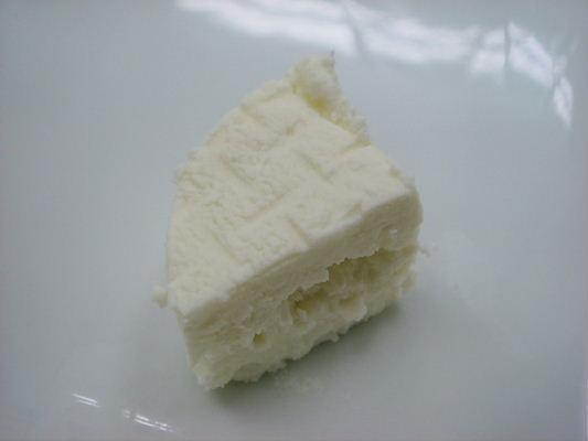 チーズをシェーブルチーズと お勉強 : sweets&healthy