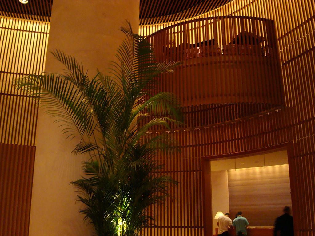 地下への階段 ジャパニーズ風石庭部屋へのエレベーターを降りるとですね、エ... ペニンシュラ 東