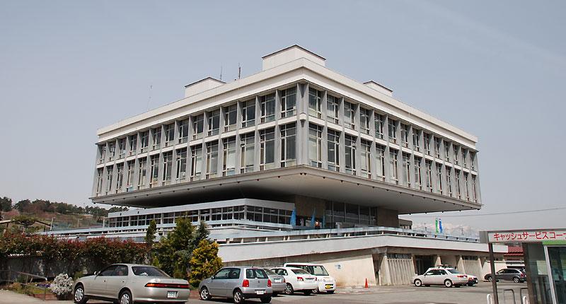 寒河江市庁舎 : ハヤカワ日記