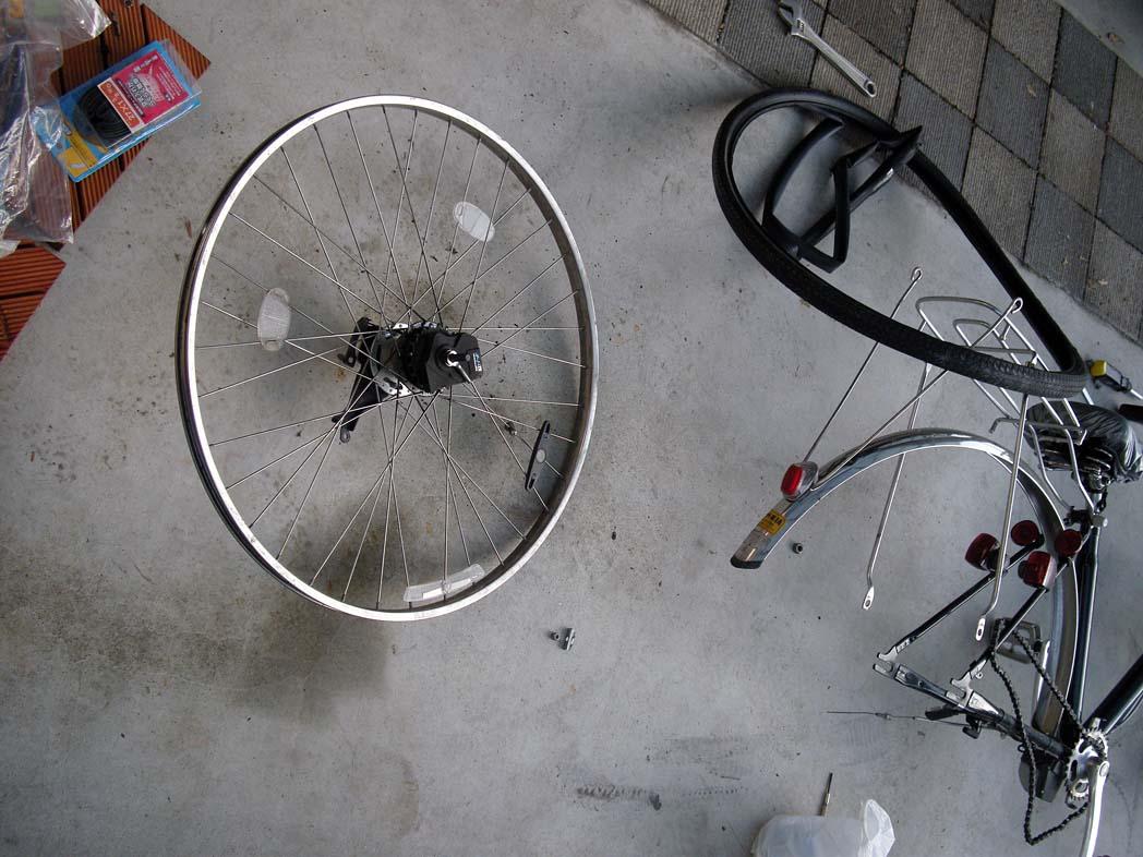 ... バイクと自転車修理 : 徒然閑写