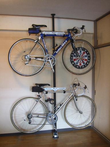 自転車の 自転車 スタンド 縦置き 自作 : 2008年07月 : アナゴさんの%表示 ...