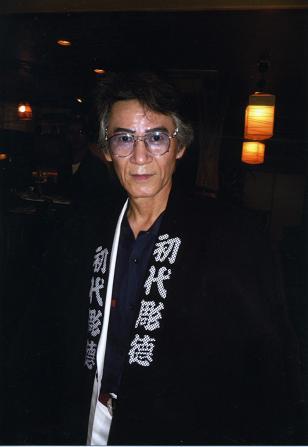 刺青師 : 初代彫徳 氏今年還暦を迎えられたという「初代彫徳 氏」全国...  刺子袢纏 【工房