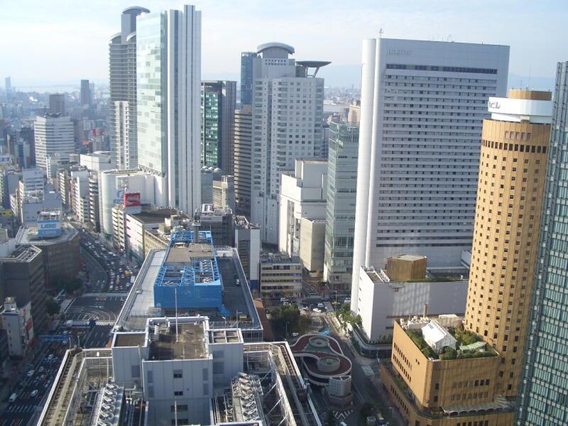 梅田:大阪駅前第三ビル展望台から : 大阪情報サロン