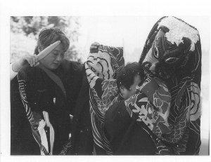 羽山神楽による春祈祷
