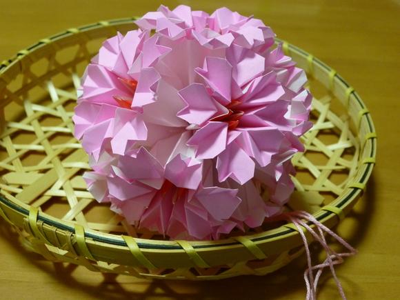 すべての折り紙 七夕 折り紙 くす玉 : origami : 河童の嫁でございます ...