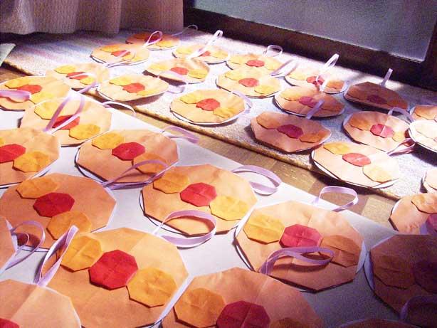 ハート 折り紙:折り紙でメダルの作り方-divulgando.net