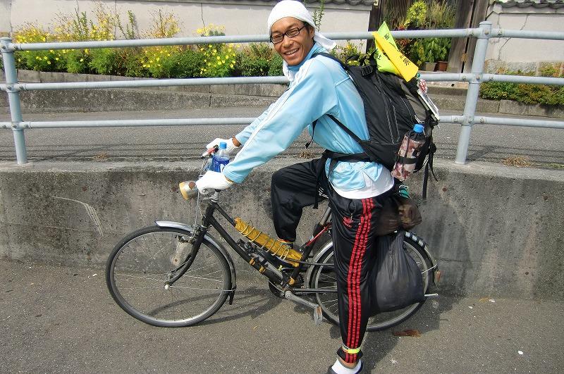 ... ママチャリ自転車日本一周人
