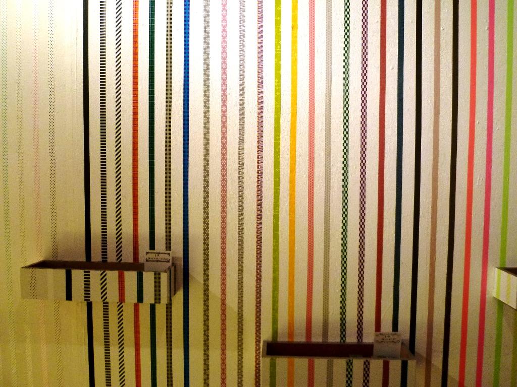 画像 マスキングテープの壁アートがすごい 使い方 活用法 セリア