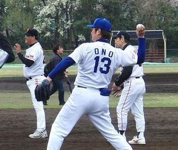 大塚光二(西武)鈴木健(ヤクルト) プロ野球OBによる「キャッチボール募金」 その1