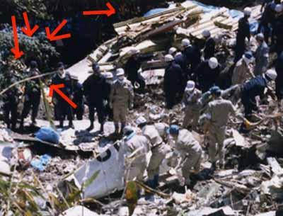 日本航空123便墜落事故の画像