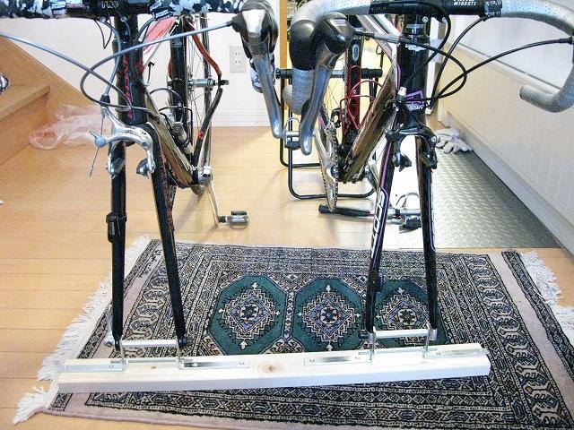 自転車の 自転車 車載 スタンド 自作 : 自転車車載スタンド自作を ...
