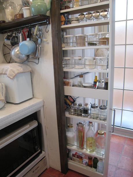 キッチン収納 (冷蔵庫横編 ...