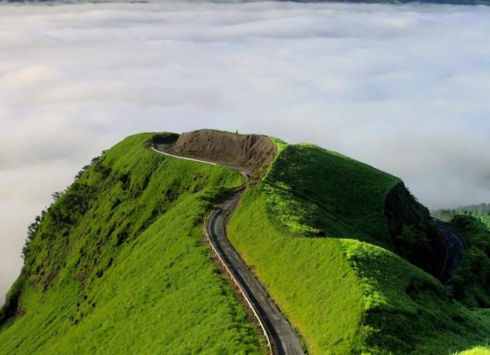 画像 : 阿蘇外輪山にある「天空 ... : 日本地図の画像 : 日本