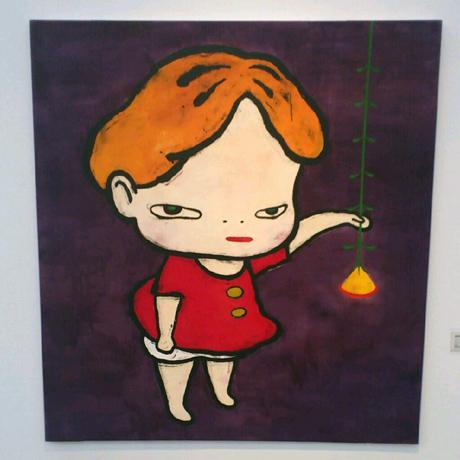 奈良美智展と同時に開催されている横浜美術館コレクション展でも、奈良美智作... ピンホール写真展