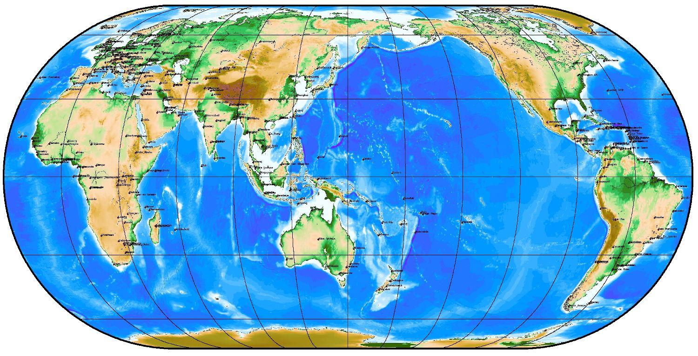 画像 : 地球地図 画像集 - NAVER ...