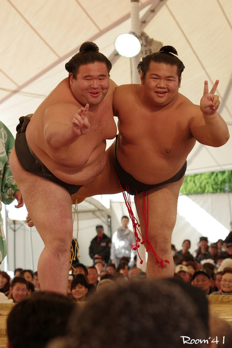 File #351】 大相撲力士 K大信さん・K鳳さん | デブ専!熊猫
