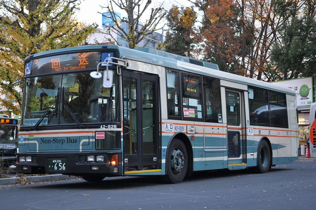 西武バス、上石神井営業所に所属 日産ディーゼル : seibu287Fの