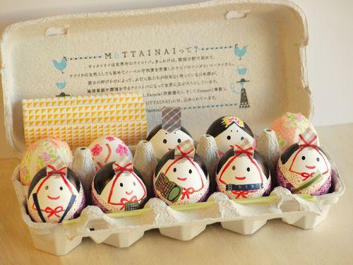 タマゴのお雛様 : 【親子で ... : 雛人形 作り方 : すべての講義