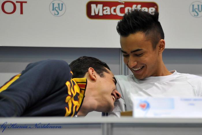 NAVER まとめハビエル・フェルナンデス選手の画像とかわいいエピソードまとめ|朗らかな人柄でスケー…